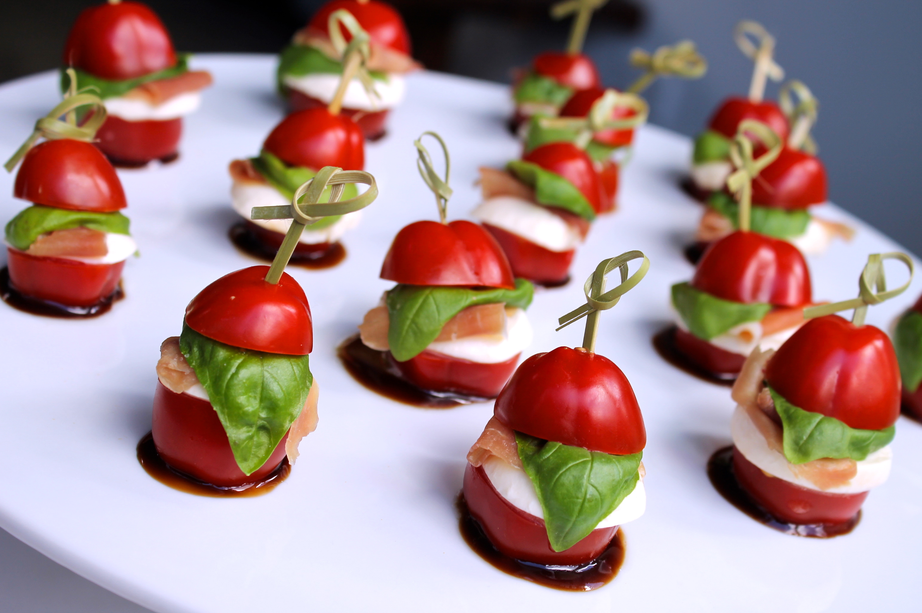 Cold buffet food service brighton and hove catering for Vegetarian canape