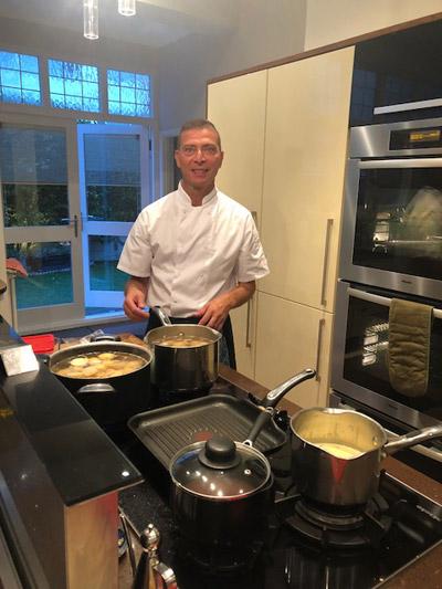 Mourad Besbes cooking