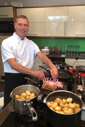 Mourad Besbes, chef