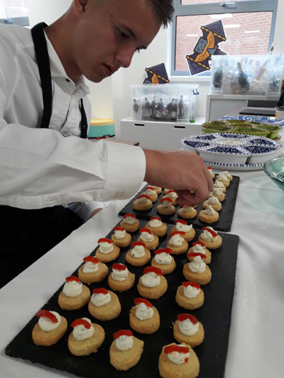 Canape catering for office party in Brighton